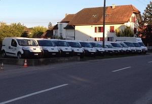 Häfliger AG Firma Auto Flotte