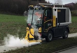 Häfliger AG Unkrautvernichtung mit Dampf Experten