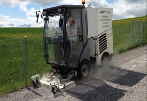 Häfliger AG gegen Unkraut mit Dampf