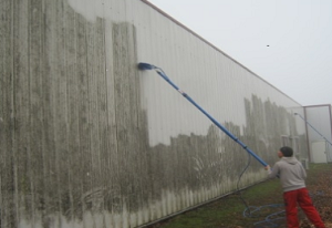 Fassadenreinigung super sauber Häfliger AG