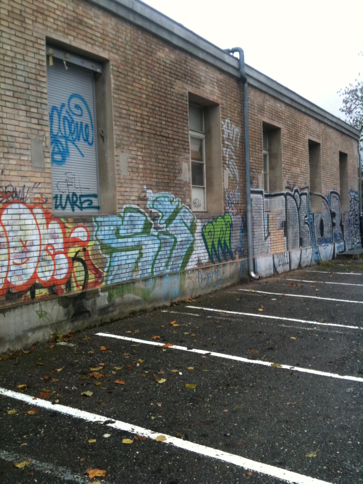 Häfliger AG Graffitientfernung an Fassade