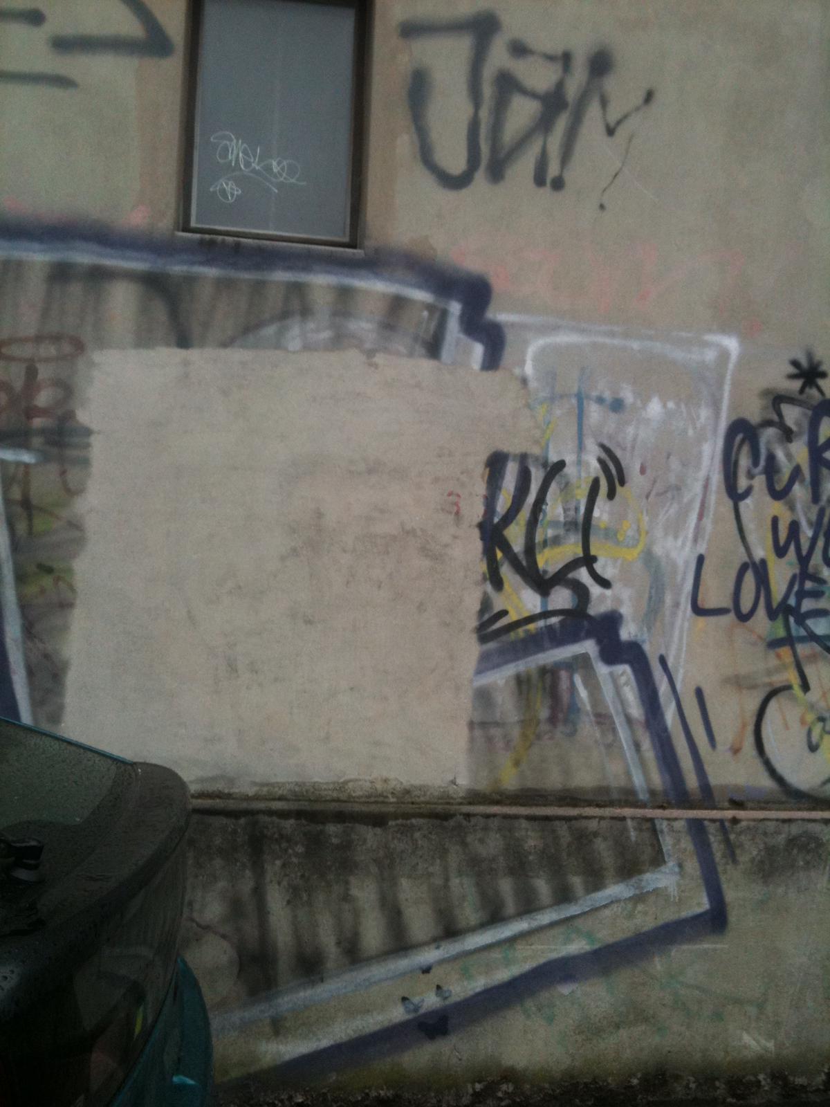 Häfliger AG Fassadenreinigung Graffiti