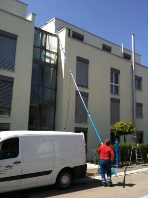Häfliger AG Fassadenreinigung sehr hoch